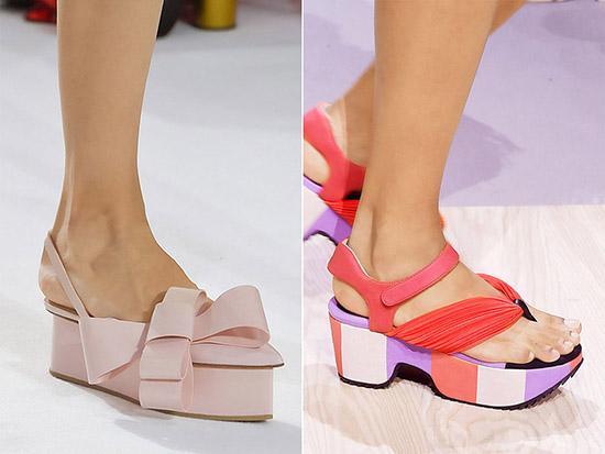 c0d73ef68 В отличие от танкетки, платформа подходит далеко не всем девушкам.  Например, худые ноги в массивной обуви выглядят тощими, а полные, наоборот,  ...